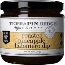 Roasted Pineapple Habanero Dip