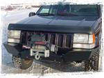 FRONT BUMPER W/RECV / D-RING MNTS/ WINCH READY