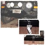 "54"" FRONT BUMPER WITH BRUSH GUARD AND BLUE OX TOWING MOUNTS"
