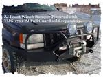 ZJ BOLT ON FULL GRILL GUARD FITS  BUMPER (TMR-0638-B)