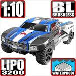 Blackout SC Pro 4x4 Brushless Short Coarse Truck - Blue