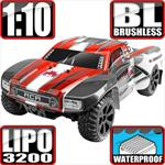 Blackout SC Pro 4x4 Brushless Short Coarse Truck - Red