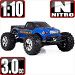 Caldera 3.0 1/10 Scale Nitro 4x4 Monster Truck- Blue