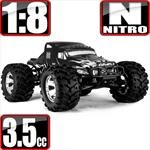 Earthquake 3.5 Nitro 1/8 Scale 4x4 Monster Truck- Semi