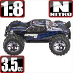 Earthquake 3.5 Nitro 1/8 Scale 4x4 Monster Truck- Blue