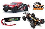 DHK Hunter BL SCT 1/10 Brushless Short Coarse Truck Bundle