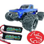 Redcat Kaiju 1/8 Scale 6S Brushless Monster Truck - Lipo Bundle