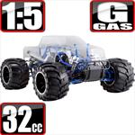 Rampage MT PRO V3 1/5 Scale 2 Stroke Gas Monster Truck