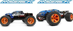 Maverick Quantum MT & XT Flux 1/10 2S Bundle - Silver