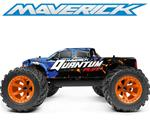BF** Maverick Quantum MT Flux 1/10 4WD Monster Truck - Blue (Lipo Bundle)