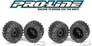 Pro-Line Interco TSL Super Swampers Mounted on 12mm F-11 Rims