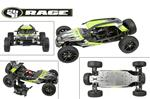 Rage RZX Brushless Buggy 1/6 Scale ARR