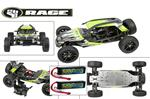 Rage RZX Brushless Buggy 1/6 Scale w/ Lipos