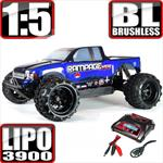 Rampage XT-E Monster Truck 1/5 Scale Brushless Bundle