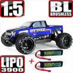 Rampage XT-E Monster Truck 1/5 Scale Brushless Lipo Bundle