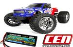 CEN Reeper  AFE 1/7 Scale Brushless MT 6S Bundle