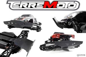 T-Bone Terremoto Front and Rear Basher Bumper Set