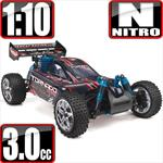 Tornado S30 1/10 Scale Nitro 4x4 Buggy- Black/Red