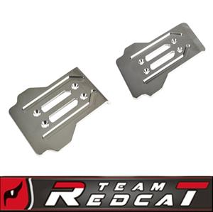 TR-MT8E Aluminum Front And Rear Skid Plates