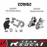 TR-MT8E- Adjustable Motor Mount & Reduction Gear Case Combo (505249TI & 505250TI)