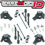 Terremoto 10 Driveshaft and Knuckle Upgrade