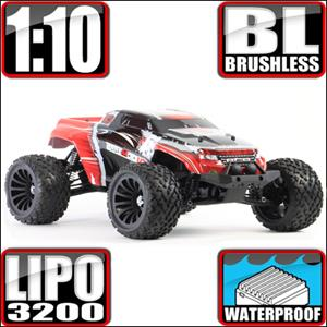 Terremoto 10 1/10 Scale Brushless 3S Ready 4x4 Monster Truck Blue