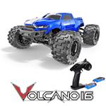 Redcat Racing Volcano 16 1/16 Scale Monster Truck RTR - Blue