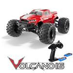 Redcat Racing Volcano 16 1/16 Scale Monster Truck RTR - Red