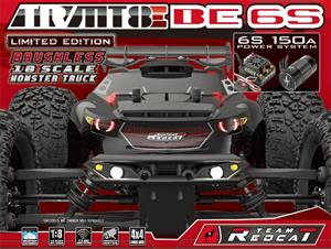 TR-MT8E BE6S - 6S Brushless 4x4 Monster Truck