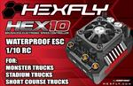 Hexfly HEX10 120 amp 1/10 Waterproof ESC