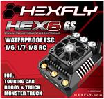 Hexfly HEX6 6S Version 160 amp 1/8 Waterproof ESC