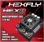 Hexfly HEX8 150 amp 1/8 Waterproof ESC