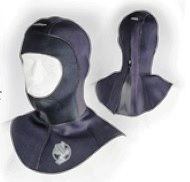 Akona 5/3 MM Quantum Stretch Zippered Hood