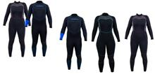 Akona 5mm Quantum Stretch Full Wetsuit
