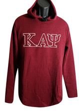 Waffle Hoodie with Greek Letters
