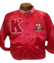 Satin Letterman's Jacket