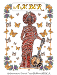 PJ's International Friends Paper Doll from AFRICA ~ Amber