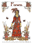 PJ's International Friends Paper Doll from NATIVE AMERICA ~ Fawn