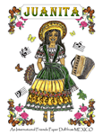 PJ's International Friends Paper Doll from MEXICO ~ Juanita