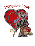 Paper Doll Valentine ~ Huggable Love ~ Browsey the Little Mousey