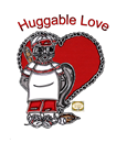 Paper Doll Valentine ~ Huggable Love ~ Merle the Little Squirrel