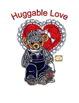 Paper Doll Valentine ~ Huggable Love ~ Neddy the Little Teddy