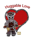 Paper Doll Valentine ~ Huggable Love ~ Smitty the Little Kitty
