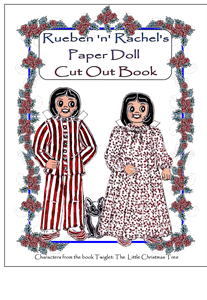Rueben 'n' Rachel's Paper Doll Cut Out Book