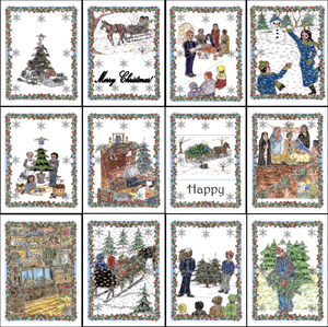 Twiglet: The Little Christmas Tree's Christmas Cards
