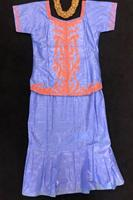 01. Blue and Orange Ladies Set