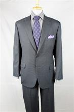 A Smith Clothiers Gray stripe 2 pc suit