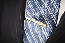 Gold and Silver Tie Clip