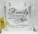 Blended Family Wedding Ceremony Unity Sand Set