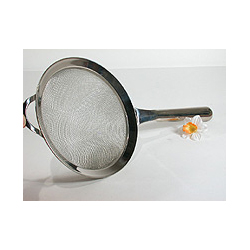 "6.5"" Stainless Steel Strainer"